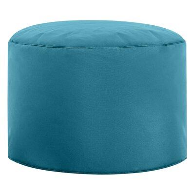 Dotcom Brava Pouf Upholstery: Turquoise