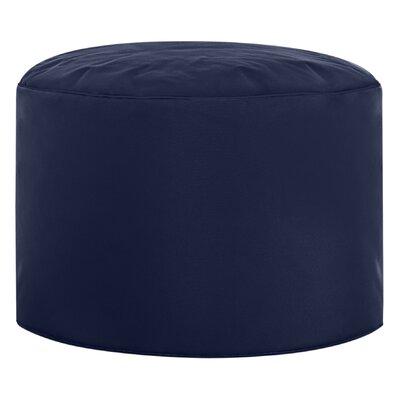 Dotcom Brava Pouf Ottoman Upholstery: Navy