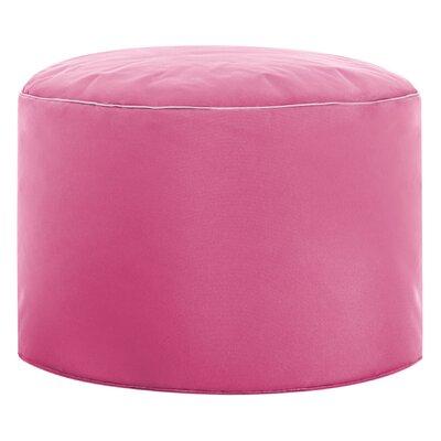 Dotcom Brava Pouf Upholstery: Pink