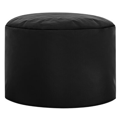 Dotcom Brava Pouf Upholstery: Black