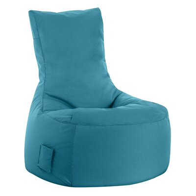 Swing Brava Bean Bag Chair Upholstery: Turquoise