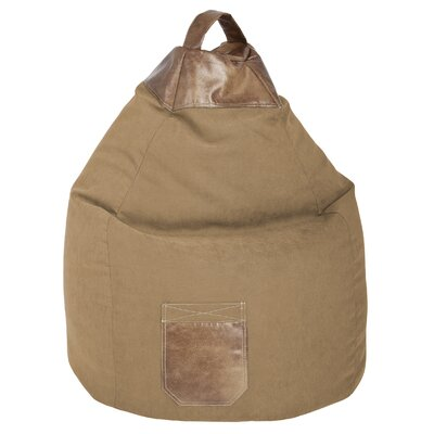 Jamie Bean Bag Chair Color: Sand