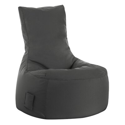 Swing Brava Bean Bag Chair Upholstery: Gray