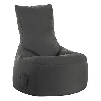 Swing Brava Bean Bag Chair Upholstery: Gray