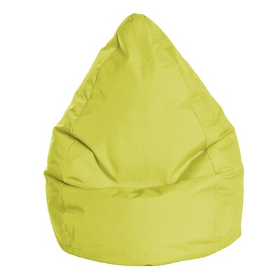 Brava Bean Bag Chair Color: Lime