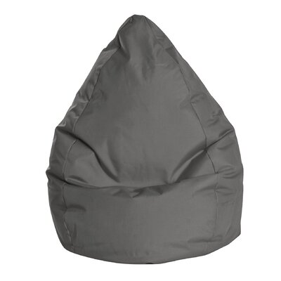 Brava Bean Bag Chair Color: Grey