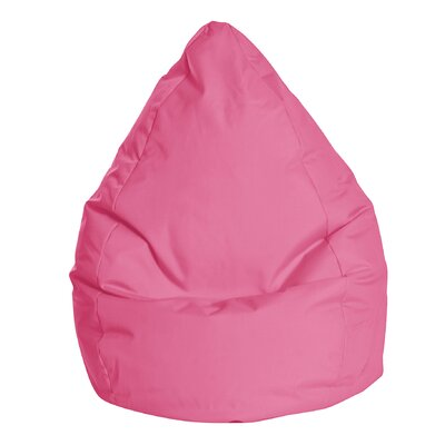 Brava Bean Bag Chair Color: Pink