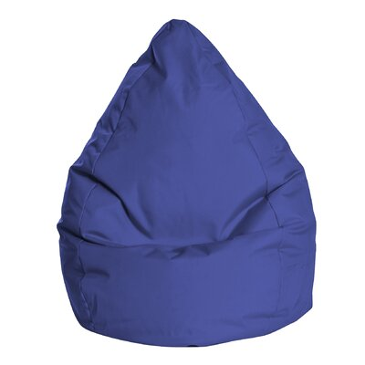 Brava Bean Bag Chair Color: Royal Blue