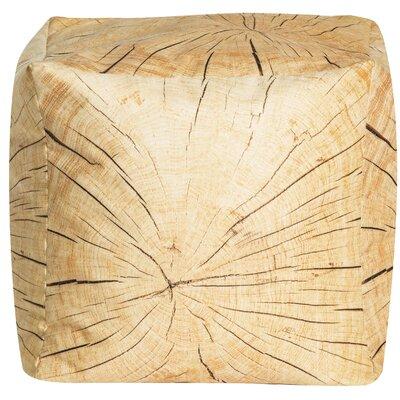 Tree Cube Pouf Ottoman