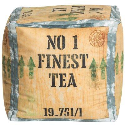 Tea Cube Pouf Ottoman