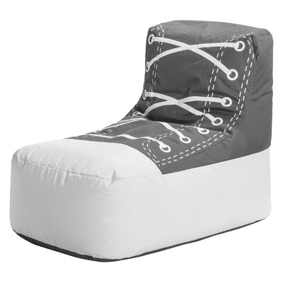 Chuck Brava Bean Bag Chair Upholstery: Gray