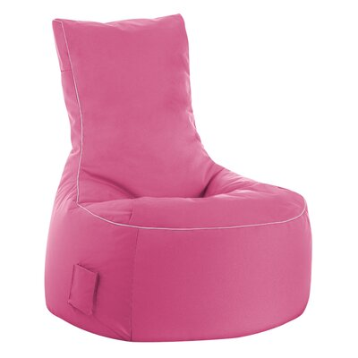 Swing Brava Bean Bag Chair Upholstery: Pink