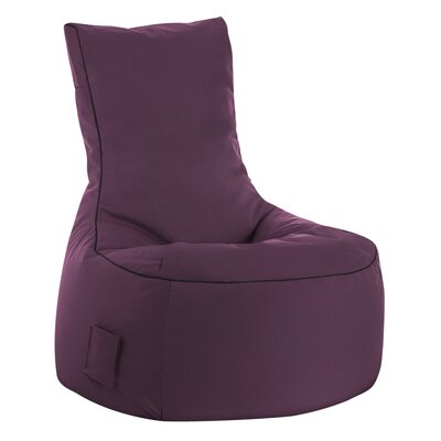 Swing Brava Bean Bag Chair Upholstery: Purple