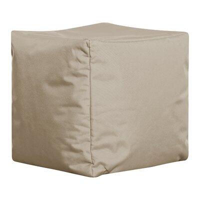 Ophelia Brava Pouf Upholstery: Khaki
