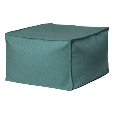 Chantrell Ottoman Upholstery: Turquoise