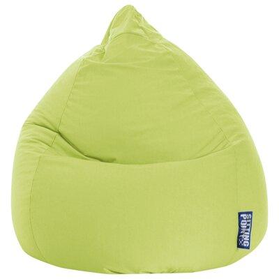 Microfiber Fabric Bean Bag Chair Upholstery: Lime
