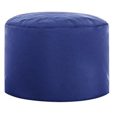 Dotcom Brava Pouf Ottoman Upholstery: Royal Blue