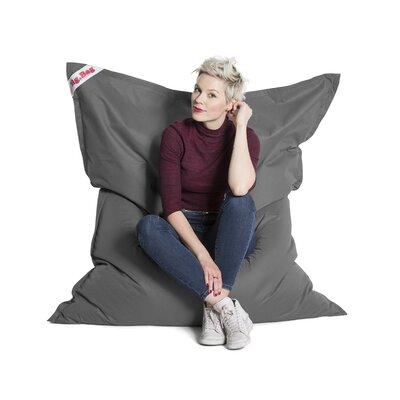 Big Bag Brava Bean Bag Chair Upholstery: Grey