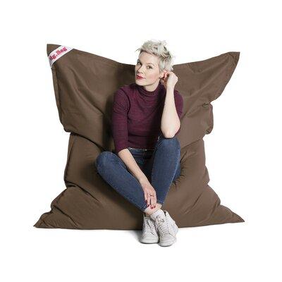 Big Bag Brava Bean Bag Chair Upholstery: Brown