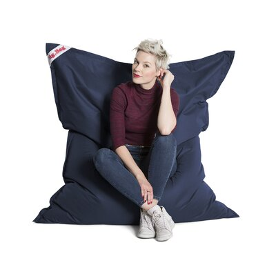 Big Bag Brava Bean Bag Chair Upholstery: Navy