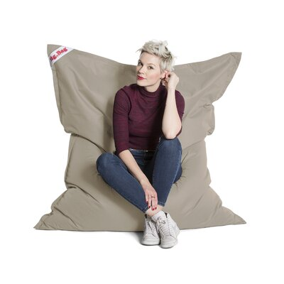 Big Bag Brava Bean Bag Chair Upholstery: Khaki