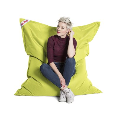 Big Bag Brava Bean Bag Chair Upholstery: Lime Green
