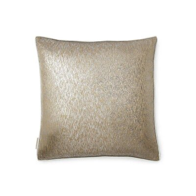 Gunmetal Silk Throw Pillow