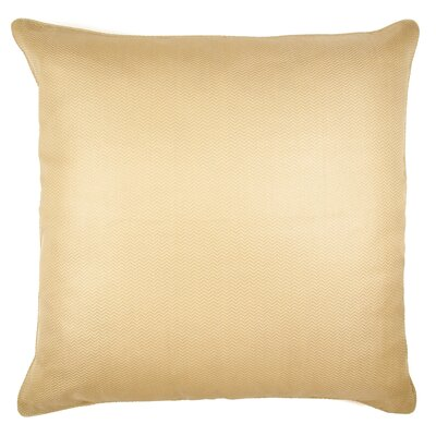 Herringbone Silk Throw Pillow