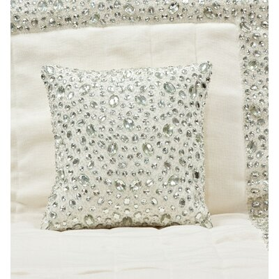 Stone Linen Throw Pillow