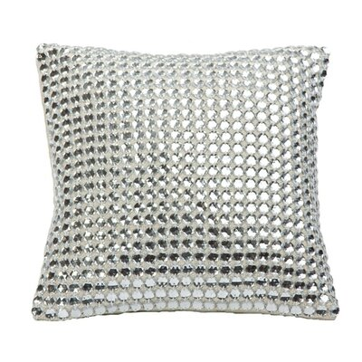 Mirror Work Throw Pillow