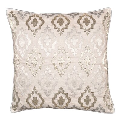 Silver Line Throw Pillow