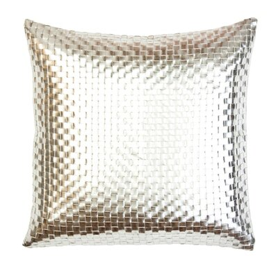 Metallic Weave Throw Pillow