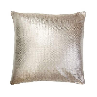Verla Zig Zag Brocade Euro Pillow
