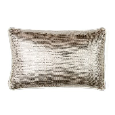 Herringbone Silk Lumbar Pillow