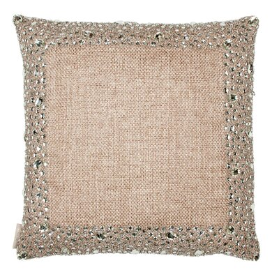 Dillon Mirror Side Border Throw Pillow