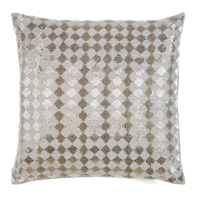 Borland Diamonds Silk Throw Pillow