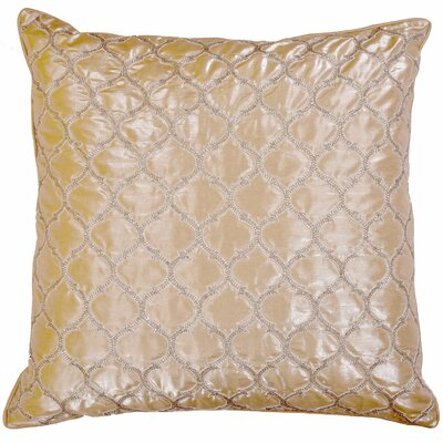 Fortune Crystallize Morocco Silk Throw Pillow
