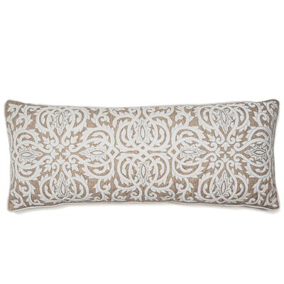 Thread Embroidery with Shimmer Lumbar Pillow
