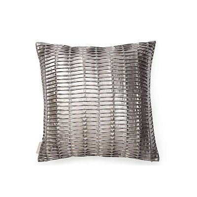 Rouched Throw Pillow Size: 26 x 26
