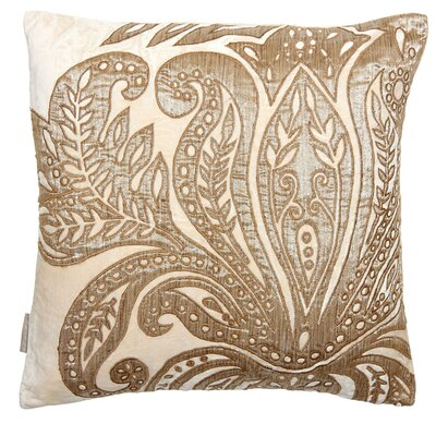 Ferns Velvet Throw Pillow