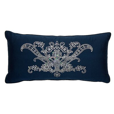 Dance of the Peacock Lumbar Pillow