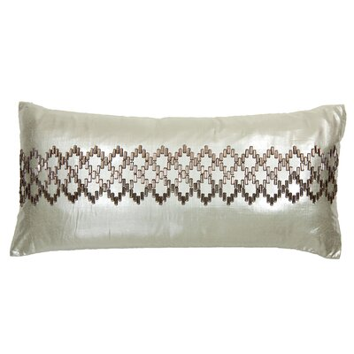 Band of Stepping Stones Silk Lumbar Pillow