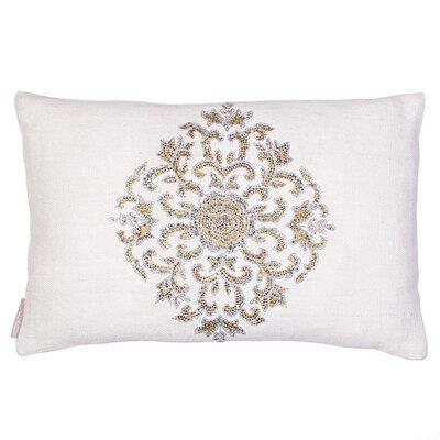 Emblem Linen Lumbar Pillow