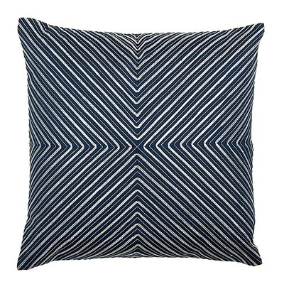 Midnight Ribbon Throw Pillow
