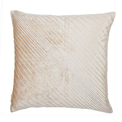 Capp Ribbon Stripes Velvet Throw Pillow