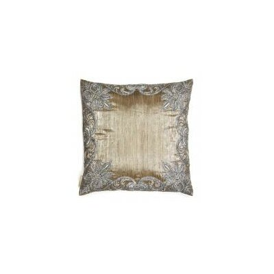 Thread Work Border Throw Pillow