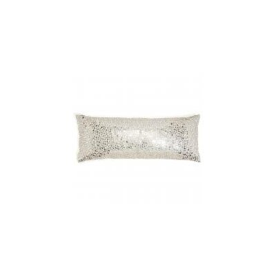 All Over Mirror Work Lumbar Pillow