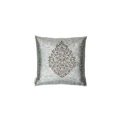 Banarsi Embellished with Crystal Beaded Throw Pillow