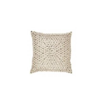 Mesh Base with Round Throw Pillow