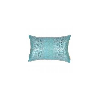 All Over with Crystal Silk Lumbar Pillow